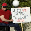 Tea Party Protester