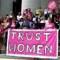 Pro-abortion rally, photo courtesy of creative commons Flickr user ProgressOhio.