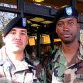 Sgt. Jose Delao (left) and Sgt. Luis Green