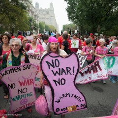Women Rising 26: A Ride on the People's Climate Train