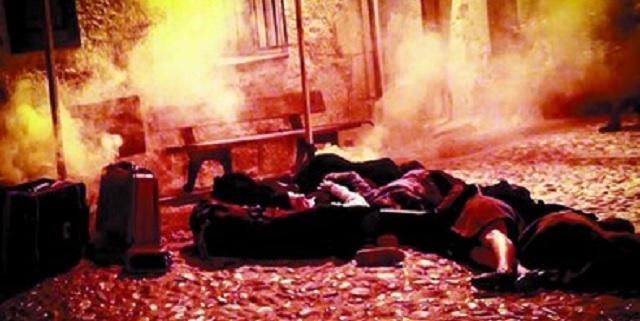 Shoá en la fiesta del terror en Frías (Burgos)