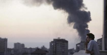 periodista en gaza