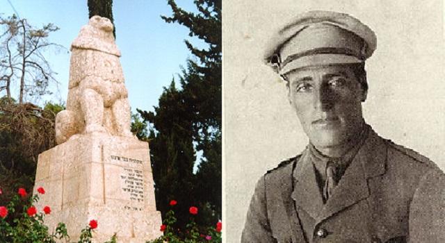 Homenaje a Josef Trumpeldor, en el día de Tel-Jai