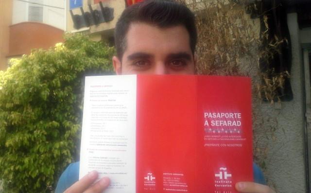 Guy Elchayani, enamorado de España