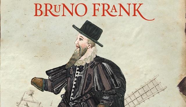"""""""Un hombre llamado Cervantes"""" de Bruno Frank, con su editor Javier Ortega"""