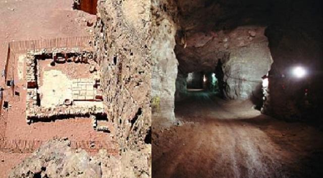 Las antiguas minas de cobre del valle de Timná