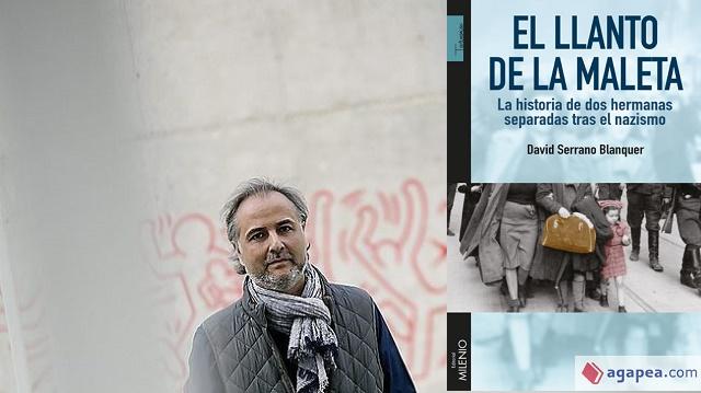 """""""El llanto de la maleta"""" con su autor David Serrano Blanquer"""
