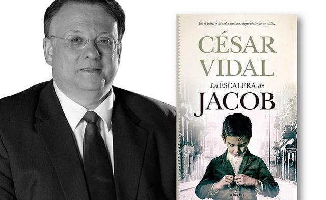 """""""La escalera de Jacob"""" con su autor César Vidal"""