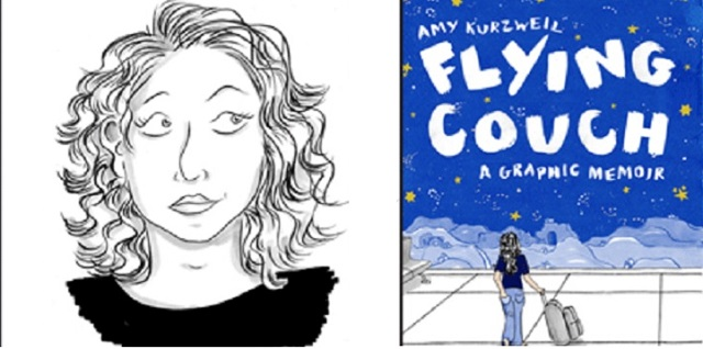 Flying Couch: Amy Kurzweil's Graphic Memoir