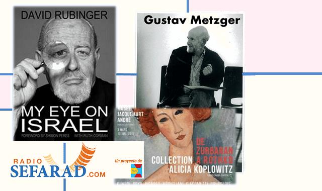Tres en uno: David Rubinger, Gustav Metzger y Alicia Koplowitz