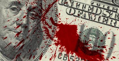 dollar manchado