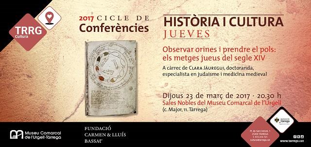 Los médicos judíos del siglo XIV, con Clara Jáuregui