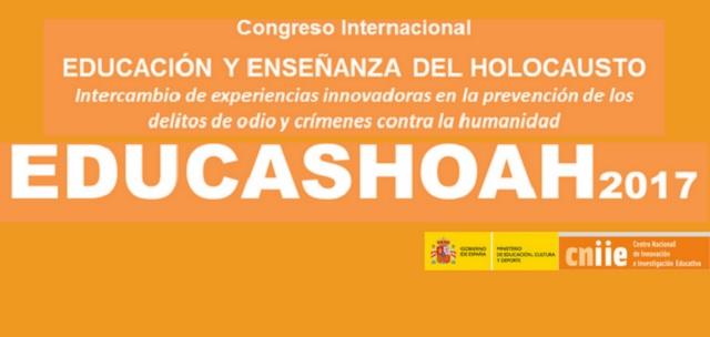 Educashoah: Congreso Internacional Educación y Enseñanza del Holocausto, con Ziva Szeinuk