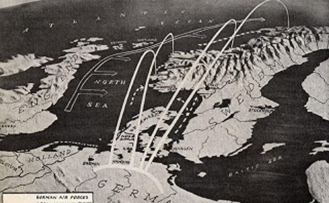 La invasión alemana a Noruega y Dinamarca