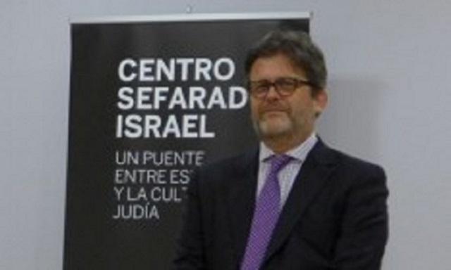 Premio Corona de Esther al Museo Sefardí de Toledo, con Miguel de Lucas