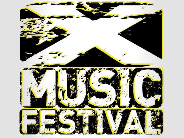 logo x music festival