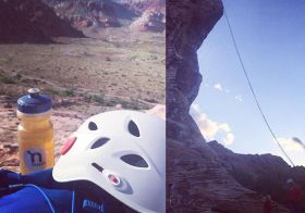Does it still count as #tbt if Instagram feeds are no longer displayed in sequence? (i.e., according to posting date). Went to beginner's #abseiling & enjoyed it! #nuunlife #rappelling #crosstraining [instagram]