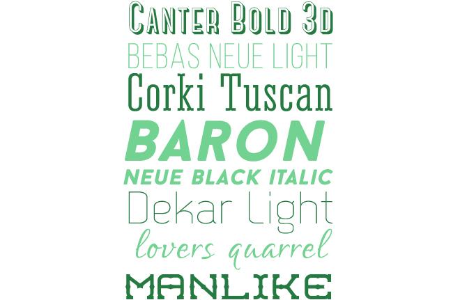 New Fonts Post1