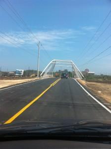 Puente de arroyo león, carretera 51B vía Puerto Colombia