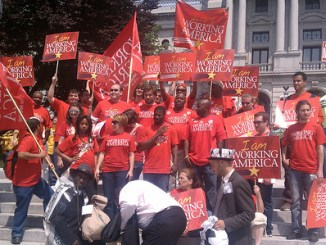 WorkingAmerica at CLEAR Rally 5-3-11