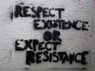 Respect Existence Expect Resistance
