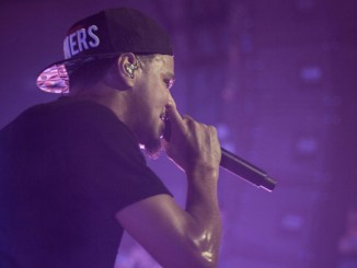 J. Cole performing at London Music Hall (cropped). Photo Credit:  Eddy Rissling for The Come Up Show