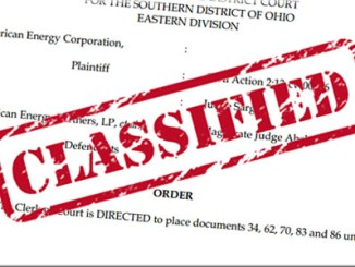 Classified Fracking Case