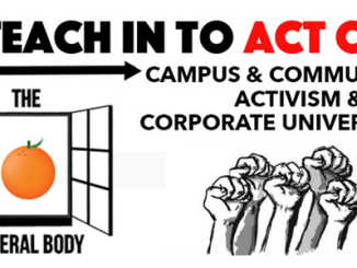 General Body Teach In Act Out