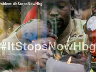 Photo credit: screen shot, PennLive video, Harrisburg's Gun Problem, #ItStopsNowHBG