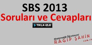 sbs 2013 sorularını indir