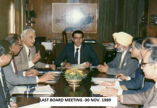 last bd mtg on 30th nov 89