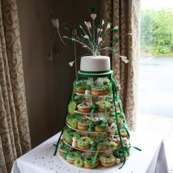 Small Of Donut Wedding Cake