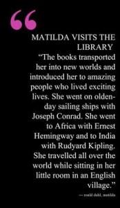 Matilda Wormwood Quote GIF