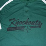 Knockout Baseball jerseys