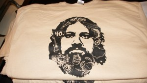 Screen printed t-shirt for 40 year old birthday
