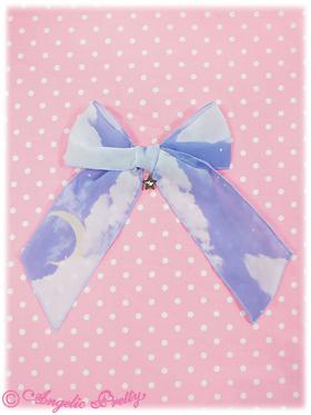 Misty Sky Bow - Lavender