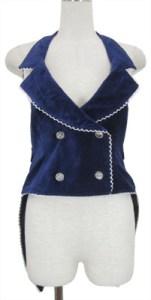 Velveteen Swallowtail Vest