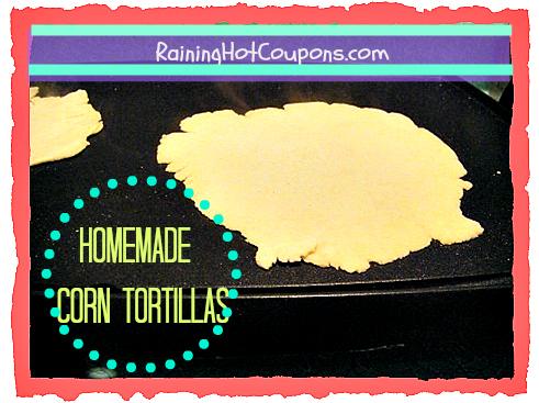 Homemade Corn Tortilla Recipe