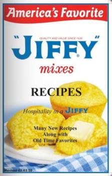 jiffy recipes book