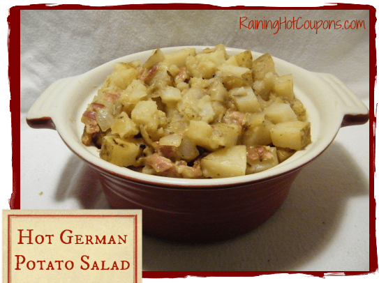 Hot German Potato Salad Recipe