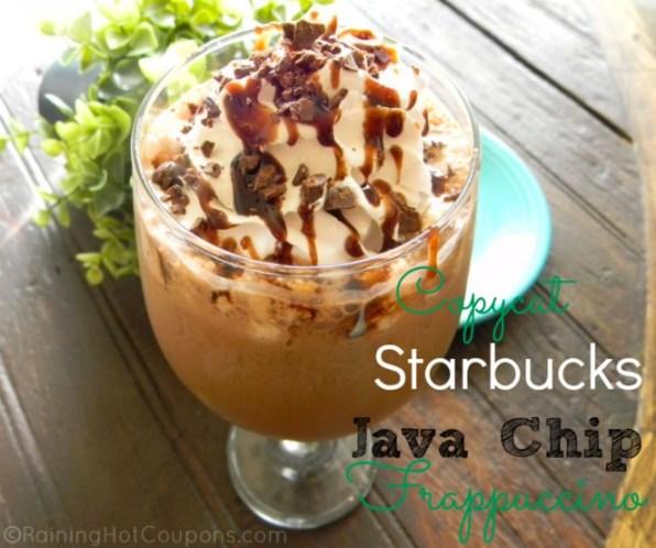 starbucks java chip recipe