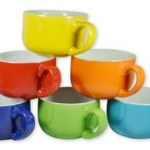Amazon: Set of 6 Colored Ceramic Coffee & Soup Mugs Only $15.80 (Reg. $49.99!)