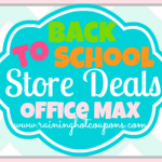 Office Max & Office Depot Back to School Deals 7/27/14