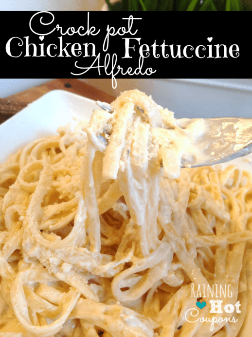 crock pot alfredo chicken