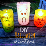 Adorable Halloween Jar Lanterns