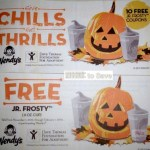 Wendy's Frosty Coupon Booklets = 10 FREE Jr. Frosty Drinks Only $1.00 Total!