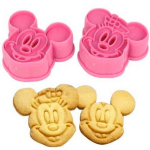 *HOT* Mickey and Minnie Mouse Decorating Cookie Cutters 2 PK Only $3.75 + FREE Shipping!