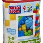 Amazon: Mega Bloks Big Building Bag, 80-Piece Only $11 Shipped (Reg. $24.99)