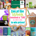 And the Fan of the Week is….(Amazon Gift Card) 6/26