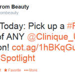 Nordstrom: FREE Clinique Foundation Sample